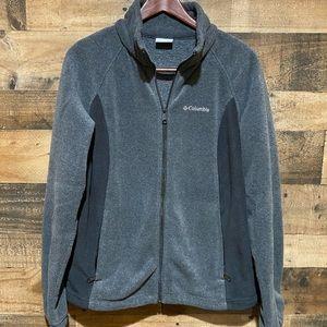 Columbia XL Gray Fleece Sweatshirt Womens